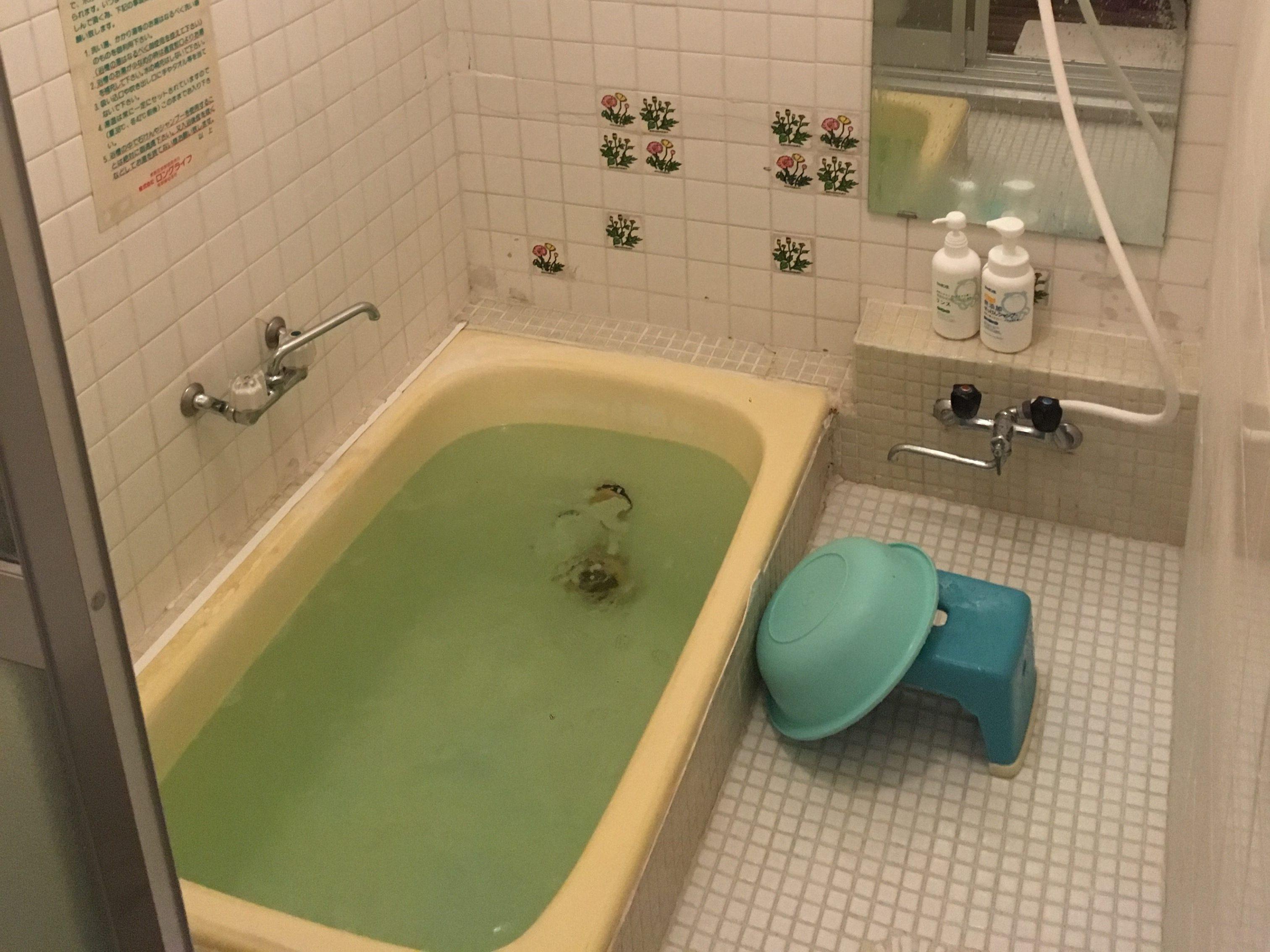 自然派ペンションにんじん 風呂2