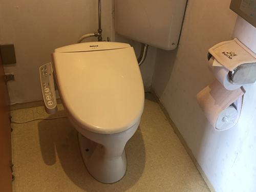 自然派ペンションにんじん トイレ